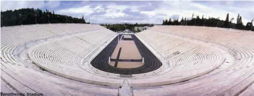 panthenais stadium athens olympic games 1896